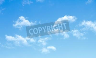 Fototapeta niebieskie niebo chmury
