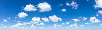 Fototapeta Niebieskie niebo naturalne tło.