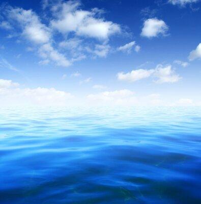Fototapeta Niebieskie wody morskiej