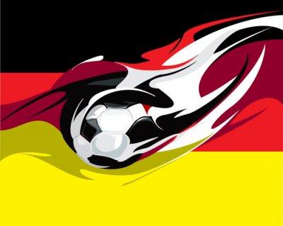 Fototapeta niemiecki futbol