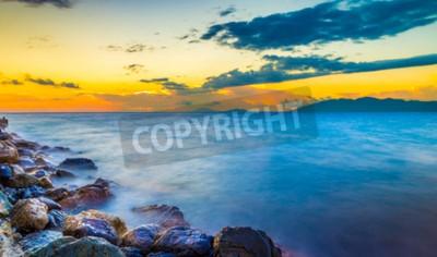 Fototapeta Niesamowite wschody i zachody słońca na wyspie Kos, Grecja