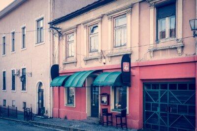 Fototapeta Niesamowity klimat retro centrum Uzhhorod - Coffee House