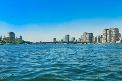 Fototapeta Nil w Kairze