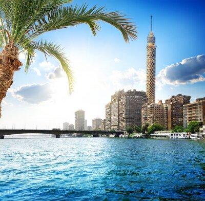 Fototapeta Nilu w Kairze
