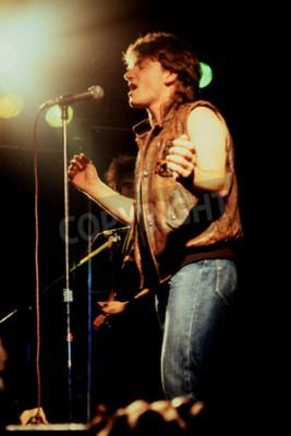 Fototapeta Norwich, Anglia, 1 października 1981 - koncert U2 w UEA