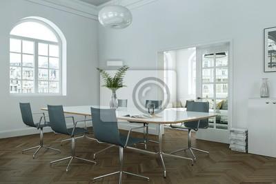 Fototapeta nowoczesny apartament w skandynawskim stylu