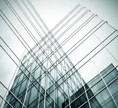 Fototapeta Nowy biurowiec w centrum biznesowym