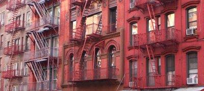 Fototapeta Nowy Jork / Fire escape
