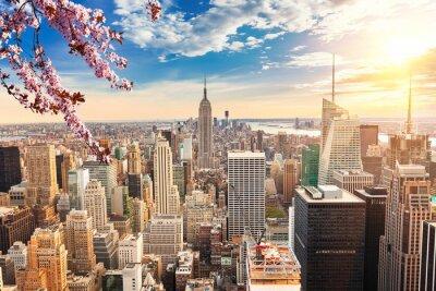 Fototapeta Nowy Jork na Manhattanie