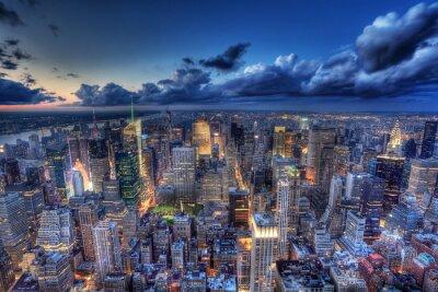 Fototapeta Nowy Jork nocą.