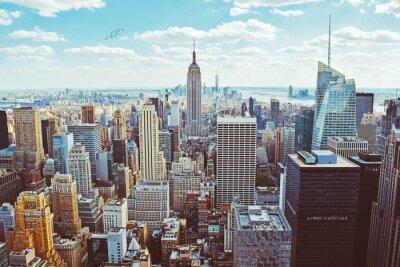 Fototapeta Nowy Jork (pobrany z helikoptera)