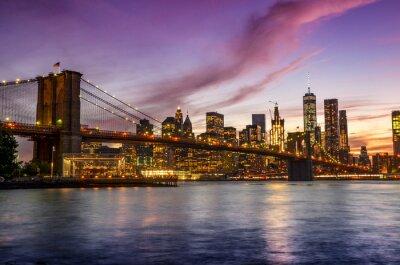 Fototapeta Nowy Jork Skyline