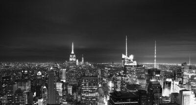 Fototapeta Nowy Jork w czerni i bieli
