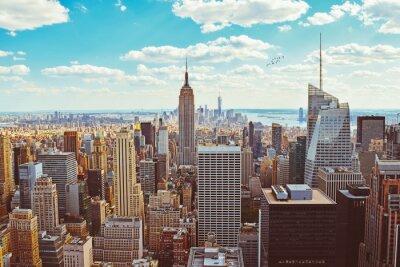 Fototapeta Nowy Jork (Zaczerpnięty z helikoptera)