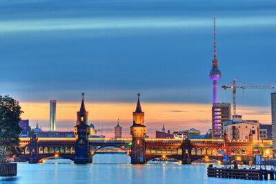 Fototapeta Oberbaumbrücke Berlin