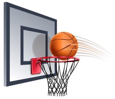 Fototapeta obręcz do koszykówki
