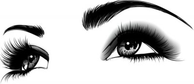 Fototapeta occhi