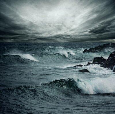 Fototapeta Ocean storm