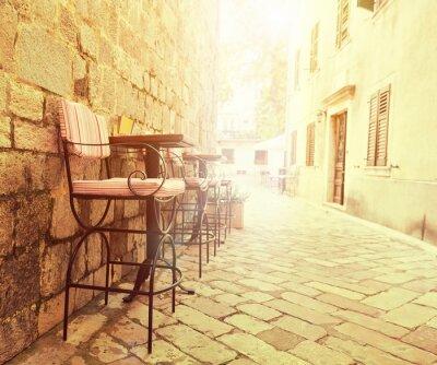Fototapeta Odkryty kawiarnia