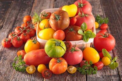 Fototapeta odmiany pomidorów