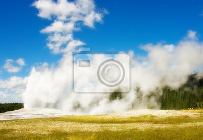 Fototapeta Old Faithful, Yellowstone National Park