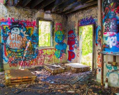 Fototapeta Opuszczony Graffit