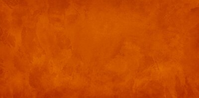Fototapeta orange background, halloween texture for website backgrounds, old vintage marbled watercolor painted paper or textured antique wall with distressed mottled grunge for thanksgiving and fall designs