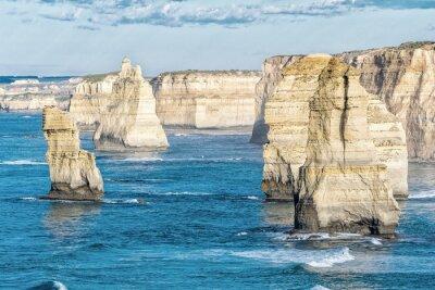 Fototapeta Oszałamiający widok z lotu ptaka Dwunastu Apostołów, Victoria - Australia