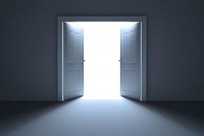 Fototapeta Otwarte drzwi