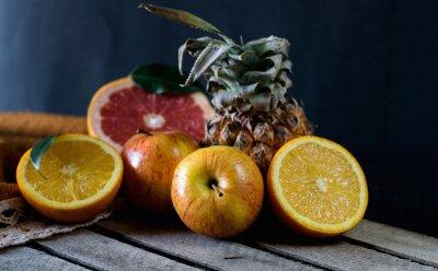 Fototapeta Owoce na stole