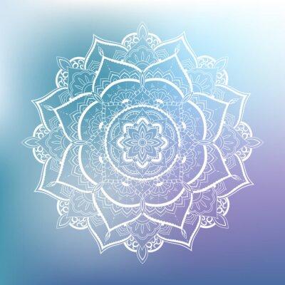 Fototapeta Ozdobnych okrąg. Mandala