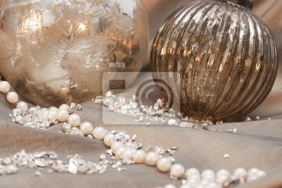 Fototapeta Ozdoby choinkowe z perls