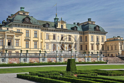 Pałac Drottningholm pobliżu Sztokholmie