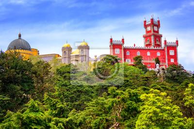 Fototapeta Pałac Pena, Sintra, Portugalia