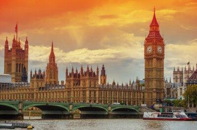 Fototapeta Pałac Westminsterski