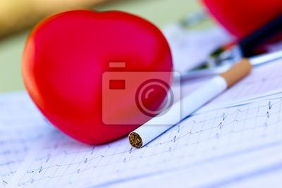 Fototapeta Palenie albo zdrowie