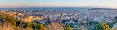 Fototapeta Panorama Barcelony