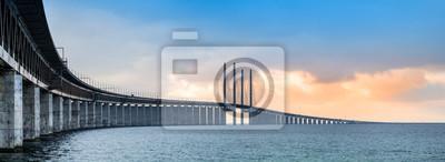 Fototapeta Panorama mostu Oresund