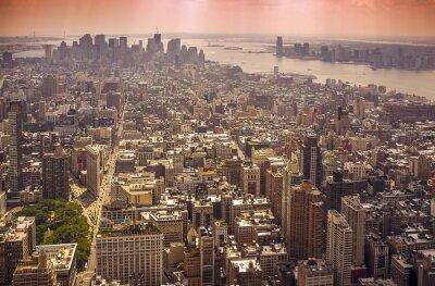 Fototapeta Panorama na Manhattanie