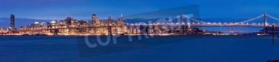 Fototapeta Panorama San Francisco w nocy