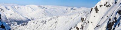 Fototapeta Panorama z północnych gór