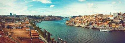 Fototapeta Panoramiczne Douro w Porto.