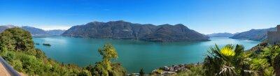 Fototapeta Panoramiczny jeziora Maggiore
