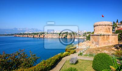 Fototapeta Panoramiczny widok Antalya miasto, Turcja
