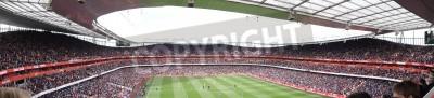 Fototapeta Panoramiczny widok z Arsenal V Chelsea 0-0 remis piłka nożna / mecz piłki nożnej grał w dniu 21 kwietnia 2012 roku Emirates Stadium, Londyn, Anglia