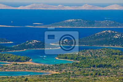 Fototapeta Park Narodowy Kornati Archipelag raj