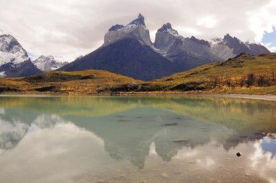 Fototapeta Park Narodowy Torres del Paine.