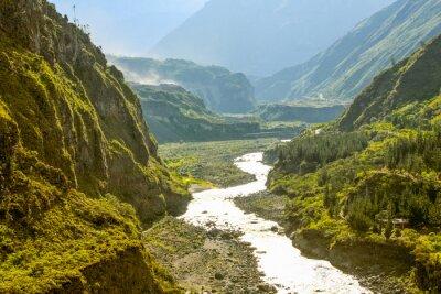 Fototapeta Pastaza Rzeka W Ekwadorze