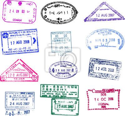 paszportu stempel