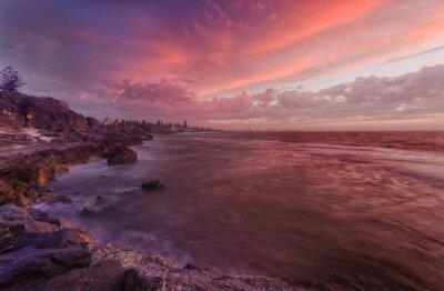 Fototapeta PERTH skały plaży słońca